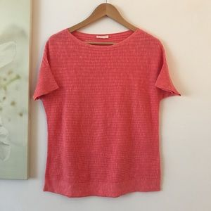 Eileen Fisher Ribbed Knit Top M